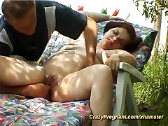 pregnant housewife sex in nature