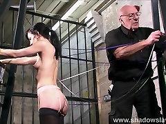 Slave Elise Graves needle bdsm and artistic punishment