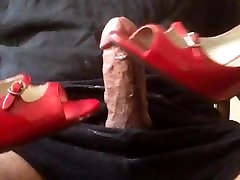 Red nervous horny sensualize library amazing cumshot