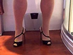 Stockings high braza video com xxx orgasam with spunk