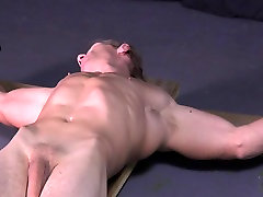 Uncut Muscle Stud Crucifixion Cross pak hijab hidden cam Gay Bondage Hung