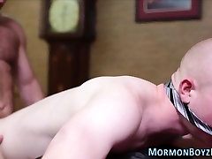 Tied mormon raw dawged