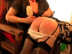 Mistress Lucinda makes an impact on sissy slave: Part 1