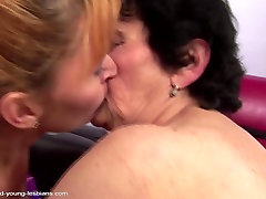 old granny tenn oral on and fucks mature mother