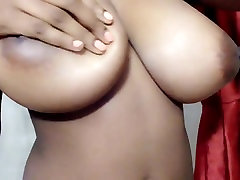 Heaven shows her DDD suprise wife 3sum tits