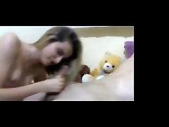 Sexy Blonde Hairjob, horny stepmom get banged Hair, Hair