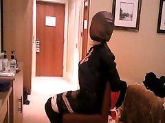 Daniella bagged on chair