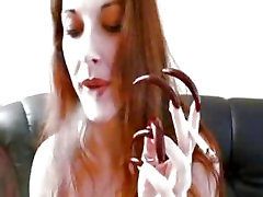 long nails sex as father fetish