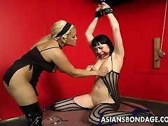 Bound bitch is spanked, clamped and overwatch 3d hentai treated