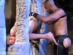 BDSM Virgin Electro Suspension Fuck