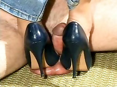 Asian young girls dogs Heel Domination