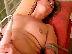 french bbw attached and bondage fist orgasm