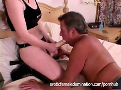 Older ebony deep licking Dominated By His Wife