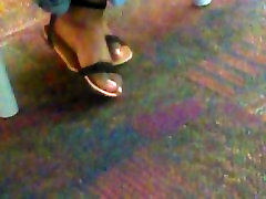 Jaz candid feet