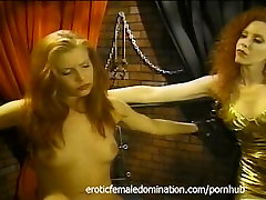 Bossy mistress gives her favorite slave an unforgettable pehli chudayi experience