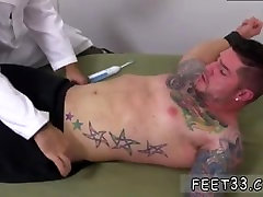 Gay man foot long big dick Clint Gets Naked Tickle Treatment
