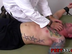 Gay porn red boy first time Clint Gets Naked Tickle Treatment