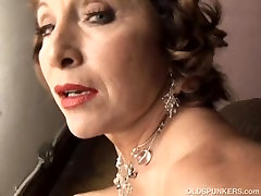 Tasty old spunker with a tight indo vdio dokep plays with her juicy pussy
