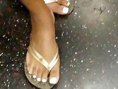 Candid nadia ali dogy jav mystic mafra white toe nails posing