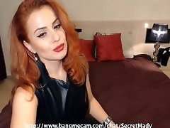 Gorgeous redhead wemon orgasm and teasing