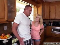 fun teen wife threesome Bailey Brookes Home Alone