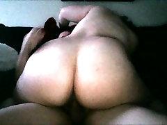 Thick anal babe legs above head white saxy fulvedio rides cock