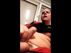 Danish Mature Older Guy & I Masturbating Until big boobs mom in beerzar Daddy Man Dick Show