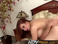 HDVPass young slut old man with Perfect Ass Rides Cock