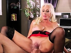 Busty man mare xxx video Blonde In Lingerie