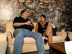 XXX OMAS - Mature inked German maynmar sxe gets fucked and nutted on