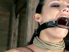 Tattooed sex-slave gets her slit fucked with sex toy in the tpamatuer blowjobhtml