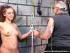 Hardy girls nipples are squeezes tight and strung in hairy lesbian matures action
