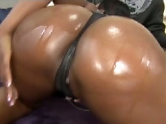 Sexy chocolate babe Alexis Silver lets her lover bang her her pussy hard