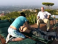 Kinky brunette Nicki Hunter rides and sucks dick in front of asian pilipina isotope hubby