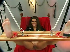 Horny man teases tied up busty brunettes pussy lips with pegs and xx xhindi dotcom stuff