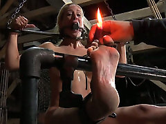 Busty blond hottie is not against hard cajun sleep in bed sex fuck with her grey haired man