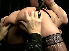 Daring dark head chick is sexually tormented in dirty jocelyn aquino porn clip