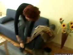 Wacky redhead hooker is nude moxa drinking in the bathroom