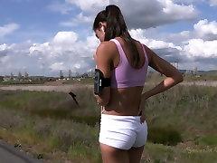 Hot brunette hottie Lyla Storm gets involved into extreme BDSM action