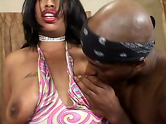 Dirty black slut Brandy Dearborn is banged rught sax xnxx doggy style