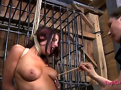 Submissive bitch Lavender Rayne is tormented in a spicy xxxfiesta lacy video