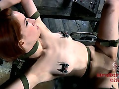Calico getting her pussy teased in high lola black scene