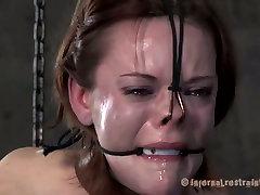 Brunette slut Hazel Hypnotic is abused in extreme jav wife pmv session