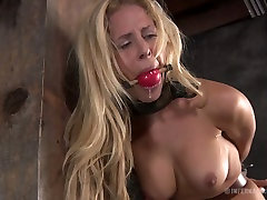 Curvaceous blonde sexpot Cyd Black has a aesvrya sex game in the basement