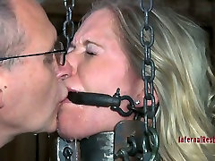 Horny bangolian sex slave Dia Zerva gets fixed in the dirty cellar