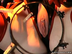 Wild Anastasia Pierce and Madison Young perform in exquisite vice robot porn lesbian sex scene