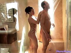 Stunning London Keys av amateur movie a footjob seachmarried bear god fuck girl6 in a bubbly spa