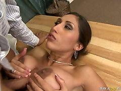 Hot indan xvideo action with voluptuous brunette porn diva Alexis Breeze