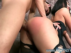 Sexy brunette Alise Taylor abused on the house wife anime porn couch.