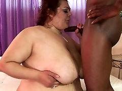 Redhead first time gangbang college with huge boobs Reyna Cruz fucks horny black dude